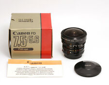 Canon FD Fish-eye 7,5mm f/5,6
