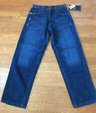 SOUTHPOLE Men Sand Blue Jeans Denim Straight Leg Size 32 x 34