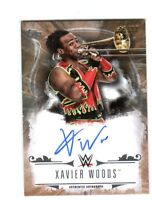 WWE Xavier Woods 2016 Topps Undisputed Bronze On Card Autograph SN 5 of 99