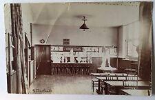 BRIGHTON ENGLAND 1906 Roedean School for Girls REAL PHOTO POSTCARD Art Studio