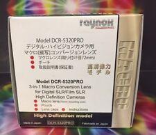 Raynox DCR-5320 PRO HD Macro LENS  72mm -> 52mm 55mm 58mm 62m 67 Panasonic Lumix