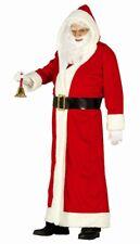 Cappotto rosso Babbo Natale costume uomo XXXL taglia unica