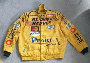 Jordan F1 Sparco Jacket XL 1999 Fireproof FIA Approved Benson & Hedges RARE