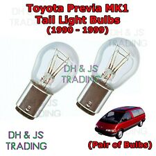 Toyota Previa Tail Light Bulbs Pair of Rear Tail Light Bulb Lights MK1 (90-99)
