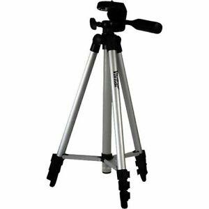 "Vivitar VPT-1250 Photo & Video Tripod, 50"" Adjustable Hight, 5lb Load Capacity"