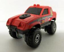 HOT WHEELS 4X4 JEEP BELL #15 Vintage Red Die-Cast Truck 1984