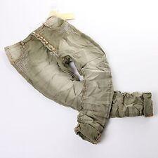 jeans taille basse pour femme pantalon sarouel BAGGY VERT S 36