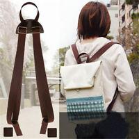 Backpack Shoulder Straps Adjustable PU Leather Replacement Shoulder Strap G