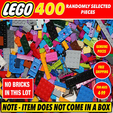 LEGO BULK LOT 400 PIECES ALL BRAND NEW BUILDING NOT IN BOX VARIOUS BLOCKS