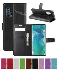 NEW Leather slot wallet stand flip Cover Skin Case For Motorola MOTO EDGE PLUS