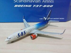 1/400 JC wings SAS Scandinavian Airlines B737-800 LN-RGI CELEBRATING 70 YEARS
