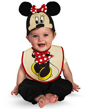 Minnie Mouse Bib and Hat