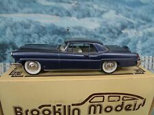 1/43 Brooklin models  BRK11 1956 Lincoln Continental Mk.II  white metal