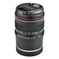 85mm F1.8 Full Frame E Mount Lens for Sony a9 a7R a7S a7 a6500 a6300 a6000