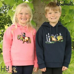 Thelwell Collection Children's Badge Hoodie – Perfect Layer for Cooler Yard Days