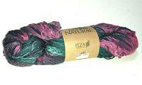 Feza Alp Natural yarn - blue purple - 230 yds - cotton silk linen viscose blend