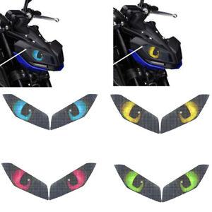 Headlights Stickers Headlamp Decals For Yamaha MT-09 MT09 2017 2018 2019 2020