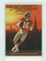 JOE MONTANA 1990 SKYBOX PRIMETIME FOOTBALL SWEET SIXTEEN INSERT CARD 067 49ers