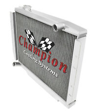 3 Row AL Champion Radiator for 1981 1982 1983 1984 1985 1986 Jeep CJ7