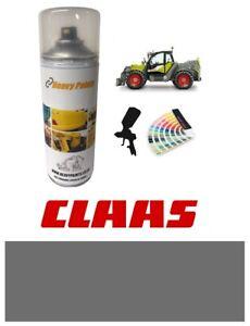 Claas Telehandler Tractor Grey Paint High Endurance Enamel Paint 400ml Aerosol