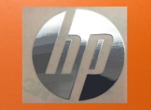 1 pcs HP Skylake Silver Chrome Color Sticker Logo Decal Badge 40mm x 40mm