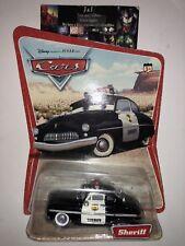 SHERIFF - ORIGINAL DESERT CARD - Disney Pixar CARS - 16 Car Back - 2005 NEW