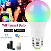 Wifi Smart Multi-Color LED Light Bulb for Amazon Alexa&Google Home Timer Remote
