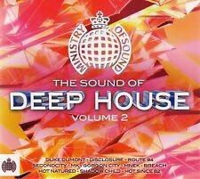The Sound of Deep House, Vol. 2 by Various Artists (CD, May-2014, 2 Discs, Minis