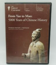 FROM YAO TO MAO: 5000 YEARS OF CHINESE HISTORY 6-DISC DVD SET, KENNETH HAMMOND