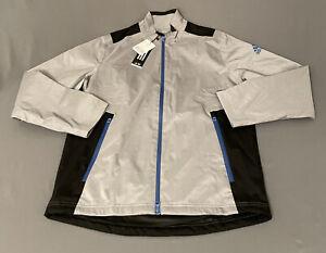 Adidas Golf Rain Jacket (M, Gray, Geometric)(NWT) MSRP $80