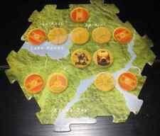 LEGO Bionicle Quest for Makuta Board Game Interlocking Mata Nui Board