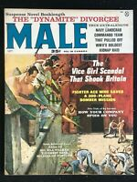 MALE Magazine - Sep 1959 - Pulp / Pin-Up / Adventure / Men's Interest