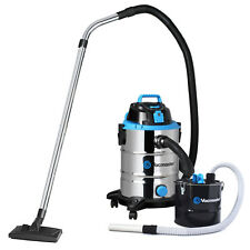 Vacmaster 1500w Wet and Dry Vacuum Cleaner Dust Extracting Industrial Ash Tank