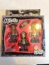 Mezco mez-itz cinema of fear rare set boxed leatherface jason freddy new sealed