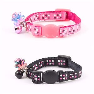 ANCOL STARS KITTEN COLLAR & CHARM with or without Engraved ID Tag