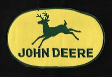 "JOHN DEERE Tractor Farm Equipment Vintage Original LRG 8"" Collectors Back Patch"