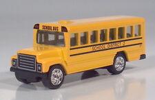 "Golden Wheels International School Bus 3"" Die Cast Scale Model HTF"