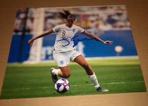 Jill Scott Signed (England & Manchester City ladies) (SMUDGED)