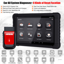 OBD2 Bluetooth Automotive Full Systems Diagnostic Scanner OBDII Scan Reset Tool