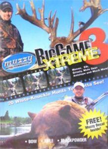 Muzzy - BIG GAME XTREME 3 DVD - Bowhunting DVD - USA