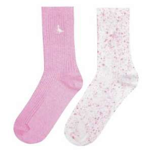 Jack Wills Womens Partly Yarn Twist Two Pack Boot Socks Trainer New