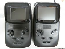 """NEC PC Engine GT Handheld Console System 3.5"""" RGB monitor glass screen LT...pah!"""