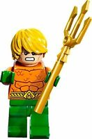 LEGO DC Comics Super Heroes Minfigure - Aquaman with Trident weapon