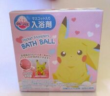 Japanese Bath ball bomb Salts OH EGG POKEMON Inside Mascot