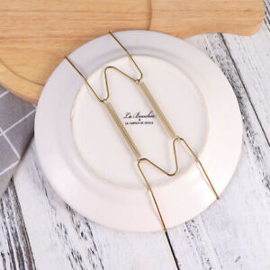 6/10Pcs Wall Plate Spring Hook Hanger Holder Hanging Wire Home Decor Accessory