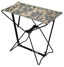 Lightweight Portable Chair Folding Camp Stool Camping ACU Camo Rothco 4545