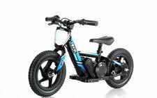 "Blue Revvi 12"" electric kids bike motorbike motorcycle 24v battery powered"