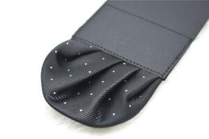 Men's Satin Silk Pre Folded Pocket Square Hankie Hankerchief Polka Dot Party A