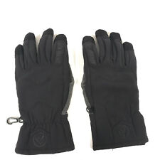 Marmot Women's Large L Winter Softshell Gloves BLACK - FREE SHIPPING
