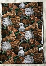 "2 Yards X 44"" Wildlife Animals Sewing Quilt Fabric Springs Industries"
